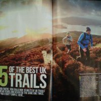 Featured in Trail Running Magazine